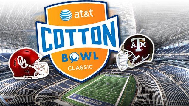 AT&T Cotton Bowl - Oklahoma Sooners vs Texas A&M Aggies