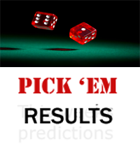 Week 13 Pick 'em results