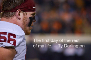 Ty Darlington's next chapter — where he wants to be (without football)